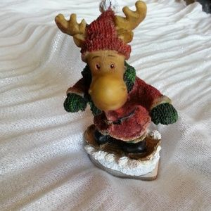 Other - Snowboarding Moose Christmas Ornament